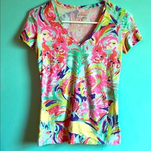 Lilly Pulitzer T-shirt EUC XXS